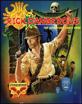 Rick Dangerous Cover