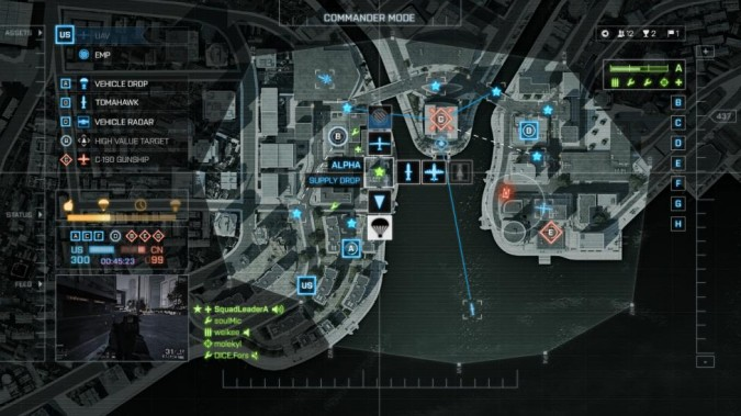 Battlefield 4 : image du mode Commander