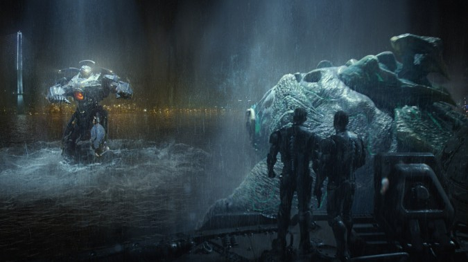 Pacific Rim : combat Jaeger vs Kaiju