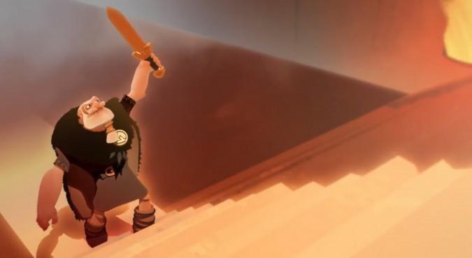 Une image du court-métrage The Saga of Biorn