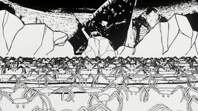 La Revolution des crabes. Arthur de Pins, 2003