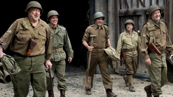 image du film Monuments Men