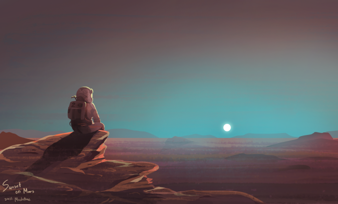 the-martian-sunset-on-mars-by-mushstone