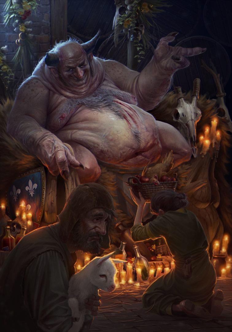 Illustration par Dario Jelusic. Vainqueur du premier prix du concours.