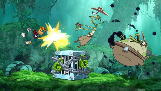Rayman Origins Jungle