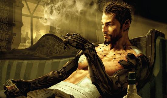 Adam Jensen le héros cyborg de Deus Ex Human revolution
