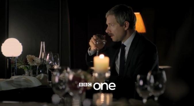 Sherlock Saison 3 et la moustache de Watson