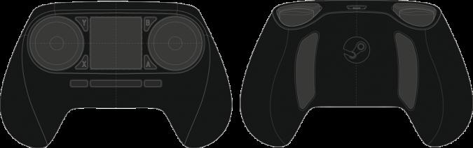 Schema du Steam Controller