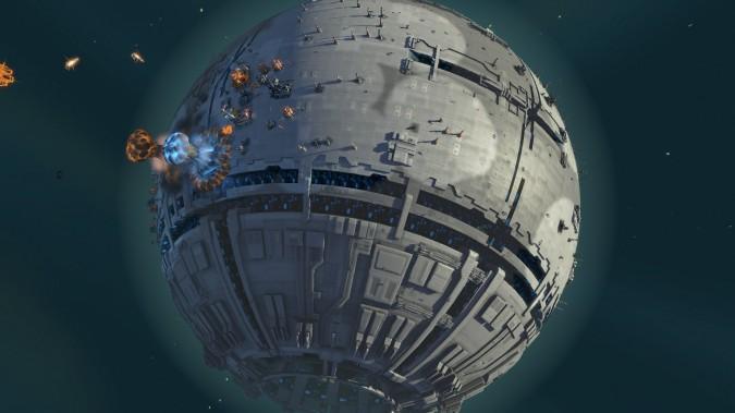 Planetary Annihilation permet entre autre de conquérir l'Étoile Noire et ça c'est plutôt badass