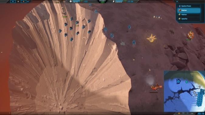 Un bug dans Planetary Annihilation quand la planète explose