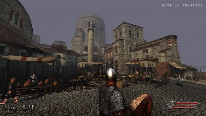 Décors très sympas dans Mount and Blade II Bannerlord