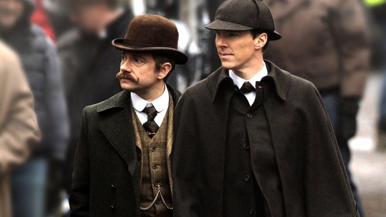 Sherlock et Watson dans l'épisode Special de la saison 4 2016
